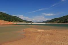 Piękny krajobraz Bebresh tama, Bułgaria Zdjęcia Stock