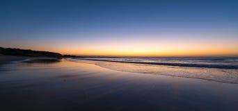 Piękny krajobraz od Norah głowy, NSW Obrazy Royalty Free