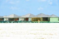 Piękny krajobraz przy raj wyspą, Maldives Marzec 2012 Zdjęcie Royalty Free