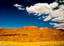 piękny krajobraz w arizonie. zdjęcia stock