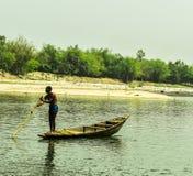 Piękny krajobraz w Bangladesz obraz royalty free