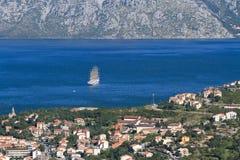 Piękny krajobraz w Montenegro zdjęcia royalty free