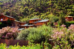 Piękny krajobraz w Morocco fotografia stock