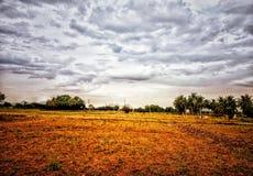 Piękny krajobraz wieś zdjęcia royalty free