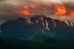Piękny krajobraz z górą Obraz Royalty Free