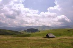 Piękny krajobraz Zlatibor góra, Serbia fotografia royalty free