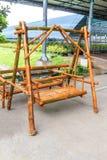 Piękny krzesło bambus Zdjęcie Stock