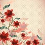 Piękny kwiecisty tło Zdjęcia Royalty Free