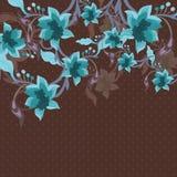 Piękny kwiecisty tło Obraz Royalty Free
