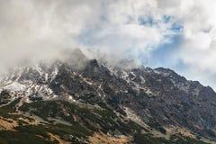 Piękny lanscape Tatrzańskie góry Obraz Royalty Free
