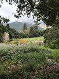 Piękny lanscape w Santa Barbara, California fotografia stock