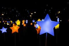 Piękny latern w dekoraci dla jesień festiwalu Fotografia Stock
