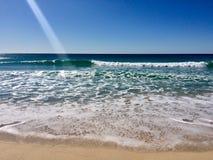 Piękny lato dzień przy plażą Fotografia Royalty Free