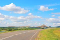 Piękny lato krajobraz Obrazy Stock