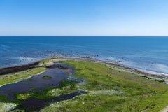Piękny lato widok prawdziwa dalej na południe końcówka Oland obrazy royalty free