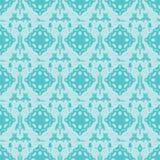 Piękny Lightseagreen I Błękitny Abstrakcjonistyczny tło ilustracja wektor