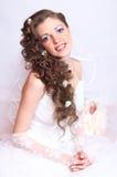 piękny Młody atrakcyjny brid Zdjęcia Royalty Free