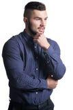 Piękny młody człowiek w formalnym odziewa Obraz Royalty Free