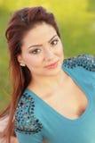 Piękny młody Latina obrazy royalty free