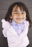 Piękny małej dziewczynki ono uśmiecha się obrazy royalty free