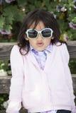 Piękny małej dziewczynki ono uśmiecha się obraz royalty free
