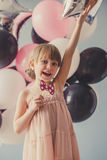 piękny mały princess fotografia royalty free
