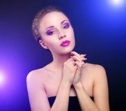 Piękny makijaż Obraz Royalty Free
