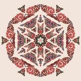 Piękny mandala Round ornamentacyjny wzór zdjęcia royalty free