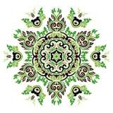 Piękny mandala Round ornamentacyjny wzór obrazy royalty free