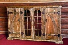 piękny meblarski ciężki drewno Obrazy Royalty Free
