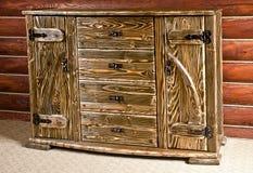 piękny meblarski ciężki drewno Zdjęcie Royalty Free