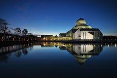 Piękny meczet Podczas Błękitnej godziny Obrazy Stock