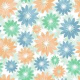 Piękny miękka część wzór z kwiatami Zdjęcia Stock