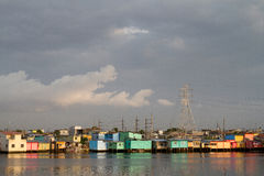 Piękny miasto Guayaquil, Ekwador fotografia stock