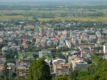 Piękny miasto w północy Iran, Gilan zdjęcie stock