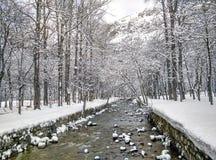 piękny miejsca przeznaczenia krajobrazu narciarstwa śnieg obrazy stock