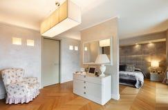 Piękny mieszkanie meblujący Obrazy Stock