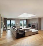 Piękny mieszkanie meblujący zdjęcia royalty free