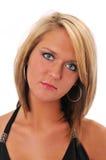 piękny model blondynkę Obrazy Royalty Free