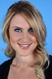 piękny model blondynkę portret Zdjęcie Royalty Free