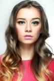 piękny model mody fotografia royalty free