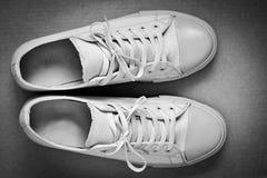 Piękny modny gym butów zbliżenie Obraz Royalty Free