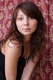 piękny modny włosy tęsk kobieta Fotografia Royalty Free