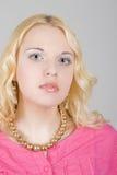 piękny mody modela portret zdjęcia stock