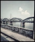 piękny most obraz stock