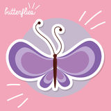 Piękny motyl Obraz Stock