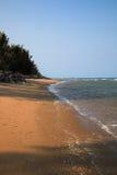 Piękny naturalny plażowy Parnburi Obrazy Stock