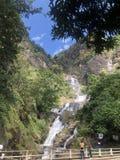 Piękny natury miejsce Nuwara Eliya Sri Lanka zdjęcia royalty free