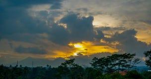 Piękny niebo głąbik Obrazy Stock
