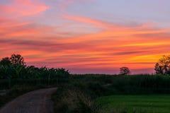 Piękny niebo i odświeżenie Zdjęcie Stock